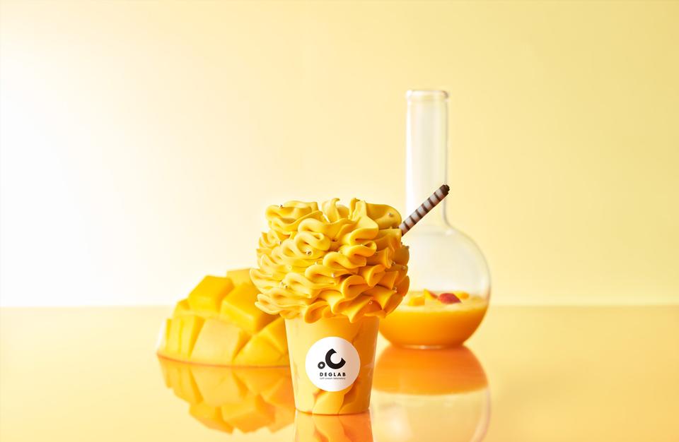 【6/1(月)】から季節限定ソフトクリーム「真夏のフレッシュマンゴー」が新登場します。